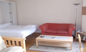 bed area